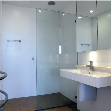 Makes cleaning shower glass easy - EnduroShield