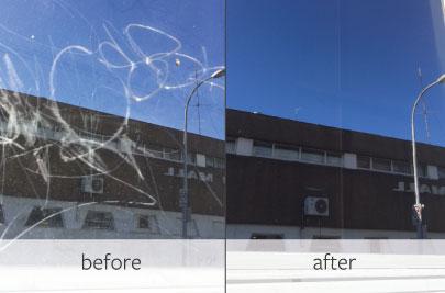 glass scratch removal - EnduroShield